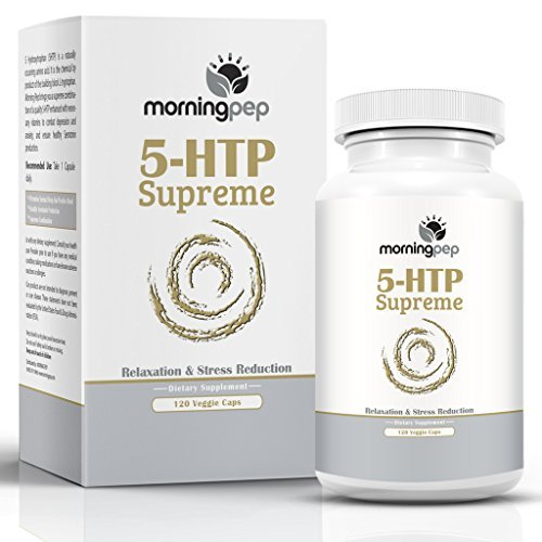 (5-HTP Supreme 120 Vegetarian Caps, is A Custom Formulated Natural Relaxation Sleep Aid Support Supplement, Promoting Healthy Sleep Mood Relaxation and Aids Insomnia Anxiety Stress & Panic Attacks)