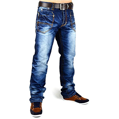 Jeans Pocket Rocket Men ID597 Slim Fit (jambe droite)