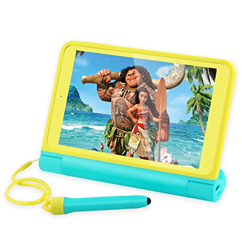 Dragon Touch K8 Kids Tablet, 8'' HD IPS Display 2GB RAM 16GB Nand Flash Android Tablet, Kidoz Pre-Installed with All-New Disney Content (more than $80 Value) - Exclusively Designed Stylus by Dragon Touch