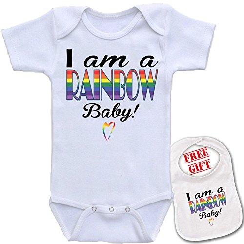 rainbow novelty bodysuit onesie Bazooka product image