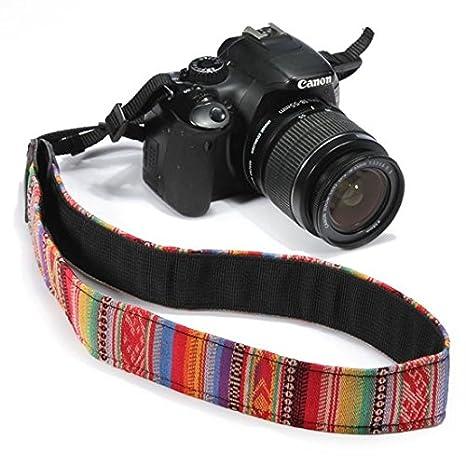 Cámara réflex digital/Nikon/Canon/Sony Vintage correa para el ...