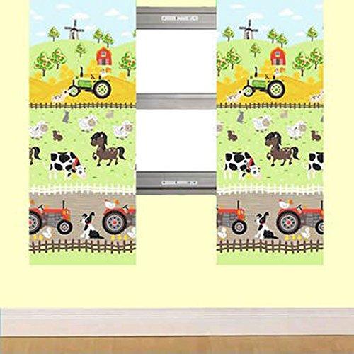 Apple Tree Farm Lined Curtains