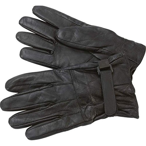 Giovanni Navarre Solid Genuine Lambskin Leather Driving Gloves- L