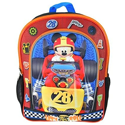 Image Unavailable. Image not available for. Color  Disney Mickey Mouse  14 quot  Molded Backpack c7648d4e59