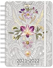"""FIREWEED 2021 - 2022 On-the-Go Weekly Planner: 17-Month Calendar with Pocket (Aug 2021 - Dec 2022, 5"""" x 7"""" closed): On-the-Go Weekly Planner"""