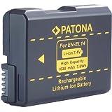 Bundlestar * Qualitätsakku für Nikon EN-EL14 - Intelligentes Akkusystem - 1030mAh - für -- Nikon D3100 D3200 D5100 D5200 -- Coolpix P7100 P7000 (P7700 bis Update 1.2)