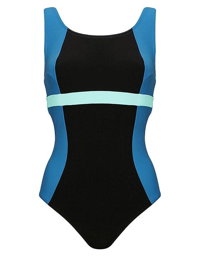 ae231032f4 Figleaves Womens Freestyle High Neck Swimsuit: Amazon.co.uk: Clothing