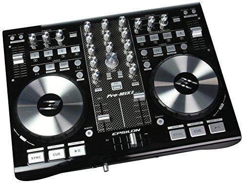 Control Pro Dj Software Controller - Epsilon Pro-Mix2 (Black)