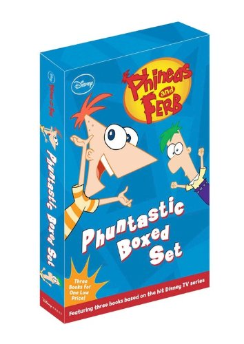 Phineas and Ferb Chapter Book Box Set (Books 1-3) by Disney Press