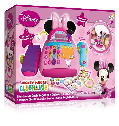 Imc toys caja registradora minnie con micro y escaner 43 180154 - Caja registradora juguete el corte ingles ...