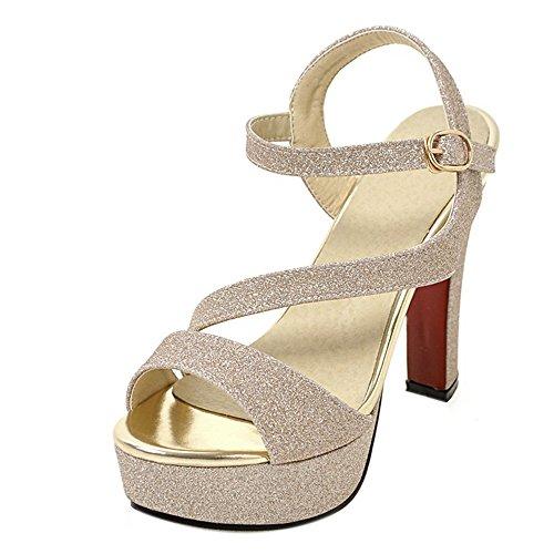 KemeKiss Women Elegant Toe Open Toe Elegant Block High Heel Sandals Platform Party Shoes Parent B072Q71DFY 317747