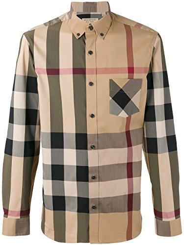 087ffc00d5d BURBERRY Men's Thornaby Camel Check Shirt XXL - Buy Online in Oman ...