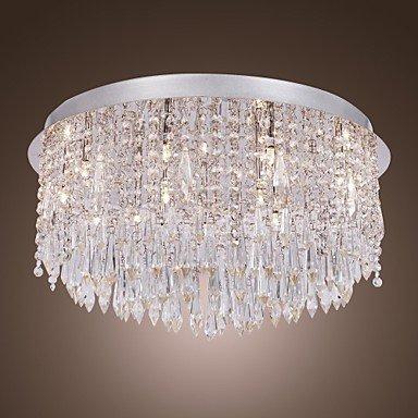 Traditional/Classic Flush Mount Downlight - Crystal Designers, 110-120V 220-240V Bulb Included
