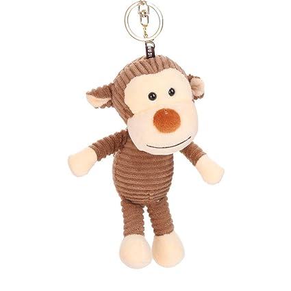 Amazon com: DaoAG Plush Animal Backpack Keychains Cute
