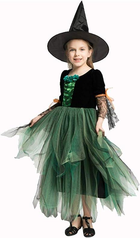 Disfraz Bruja para Niñas Halloween Costume Deluxe Set Fairytale ...
