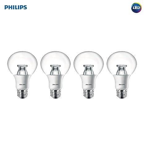 Philips LED regulable G25 suave luz blanca Bombilla con cálido resplandor efecto 460-Lumen,