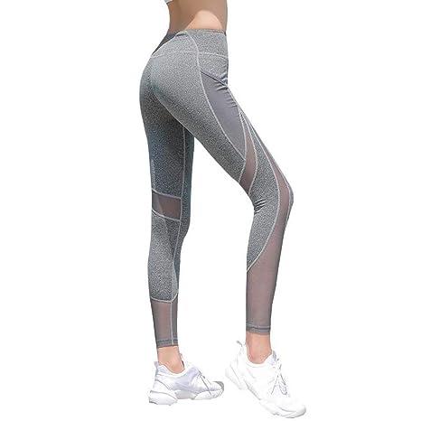 ZJCK Pantalones Deportivos de Mujer Pantalones Ajustados ...
