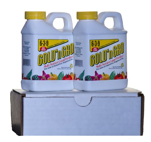 GOLD'n GRO 6-3-9+4% Sulfur Two-Pak Liquid Fertilizer ()