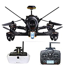 Walkera F210 Professional Deluxe Racer Quadcopter Drone w/ 5.8G Goggle4 FPV Glasses /Devo 7 Transmitter /700TVL Night Vision Camera / OSD / Ready to Fly Set RTF Mode 2