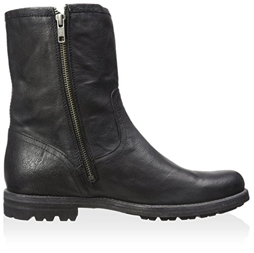 Frye Mens Phillip Lug Inside Zip Black