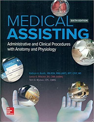 Medical assisting administrative and clinical procedures with medical assisting administrative and clinical procedures with anatomy and physiology kathryn booth 9781259197741 amazon books fandeluxe Gallery
