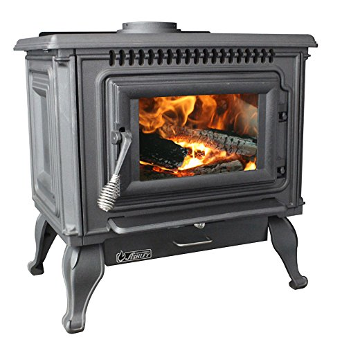 (Ashley AC2000 Medium EPA Cast Iron Wood Stove)