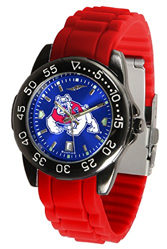 Fresno State Watch Wrist - Fresno State Bulldogs Fantom Sport Silicone Men's Watch
