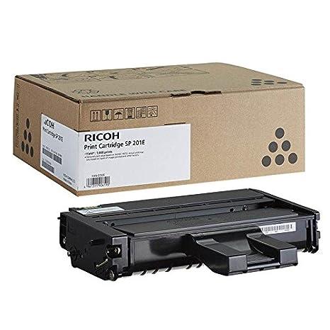 Tóner original sp201e negro original Ricoh Aficio SP201 SP201 N ...