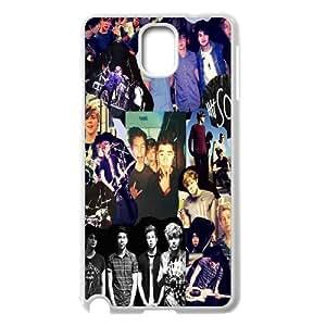 [QiongMai Phone Case] For Samsung Galaxy NOTE3 Case Cover -5SOS Punk Music Band-Case 4