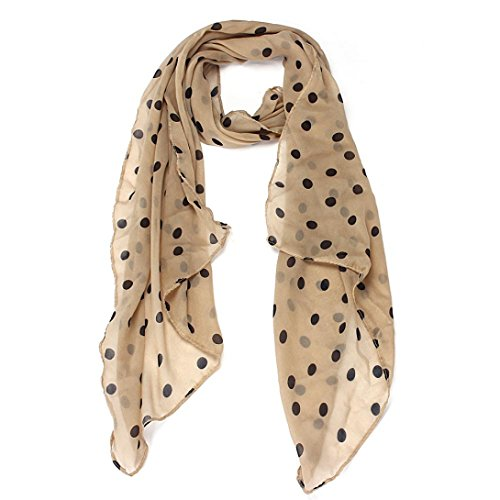 Wensltd Clearance! Women Beautiful Polka DOT Chiffon Stole