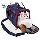 Soft Sided Pet Carrier JimmyPet® [Airline-Approved recommended by American Pet Association]- Pet Travel Portable Bag Home for Dogs, Cats and Puppies