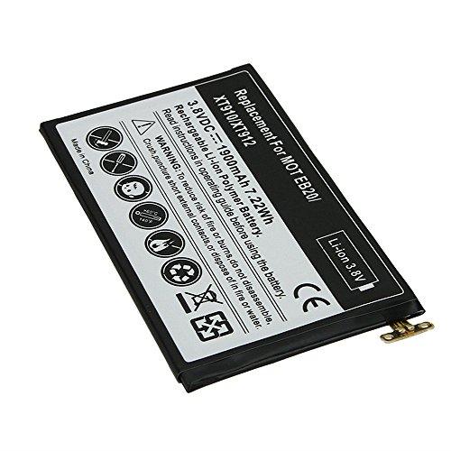 eHometown EB20 1900mAh Rechargeable Lithium-ion Battery for Motorola Droid Razr XT910 XT912