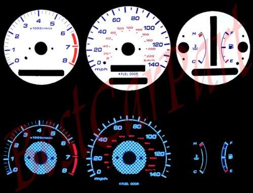 97 98 99 00 01 Toyota Camry/Solara AT WHITE GLOW EL GAUGES