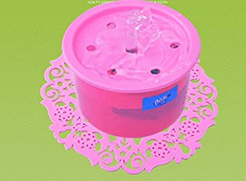 ZHJZ Cuenco para Perros Fuente automática de Recirculación de Oxígeno dispensador de Agua para Mascotas Pet