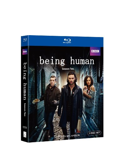 Blu-ray : Being Human: Season Two (Dolby, AC-3, 3 Disc)