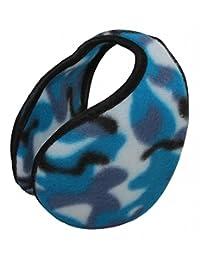 TopHeadwear Warm Ear Muff (Various Patterns) - Blue Camouflage