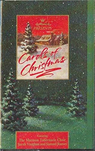MORMON TABERNACLE CHOIR, SARAH VAUGHAN, SAMUEL RAMEY: Carols of Christmas (Hallmark Collector Album) Cassette Tape ()