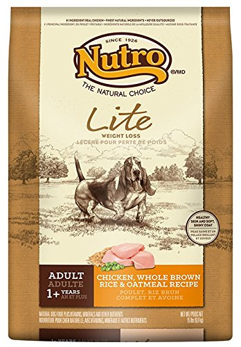 Nutro Lite Weight Loss Dry Dog Food Chicken Brown Rice And