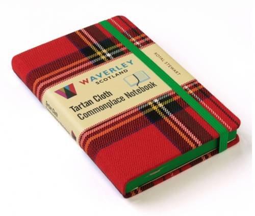 Royal Stewart: Waverley Genuine Tartan Cloth Commonplace Notebook (Waverley Scotland Tartan Cloth Commonplace Notebooks/Gift/stationery/plaid) ()