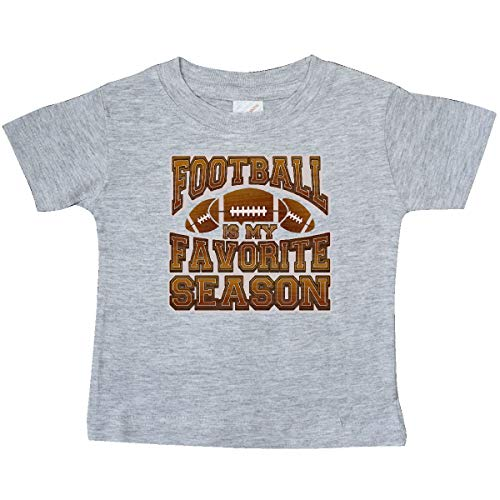 inktastic - Football Season Sports Baby T-Shirt 18 Months Heather Grey 332af
