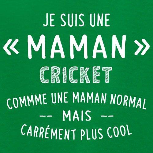 une maman normal cricket - Femme T-Shirt - Vert - XL