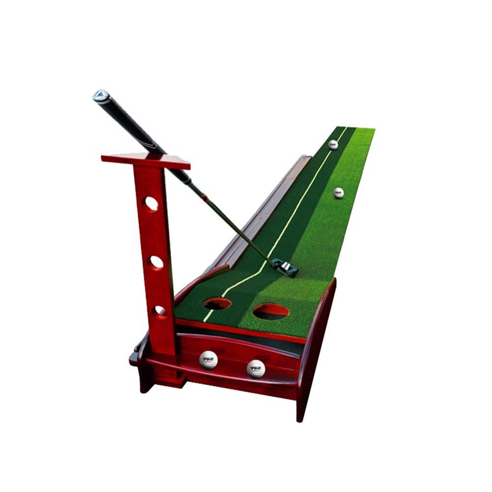 人工ゴルフ打撃マット、室内ゴルフパッティング練習セットウッド、30 * 350 cm   B07JYJ5R4G
