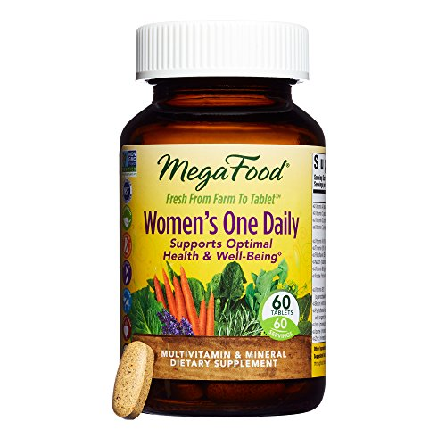 Thyroid Support 60 Tablets (MegaFood - Women's One Daily, Supports Healthy Emotional Balance & Stress Response, 60 Tablets)