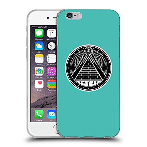 """GoGoMobile Coque de Protection TPU Silicone Case pour // Q08320634 Mystique occulte 11 Turquoise // Apple iPhone 6 4.7"""""""