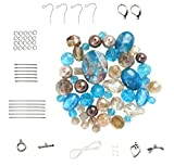 Turquoise & Golden Beige Bead Set (Z600)