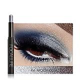 Eyeshadow Pens 12 Colors Pigmented Highlighter Shimmer Makeup Waterproof Beauty Eyeshadow Palette Eye Shadow Long-lasting Pencil Cosmetic Eyeshadow