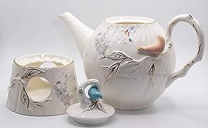 Porcelain Teapot With Warmer -VK617701