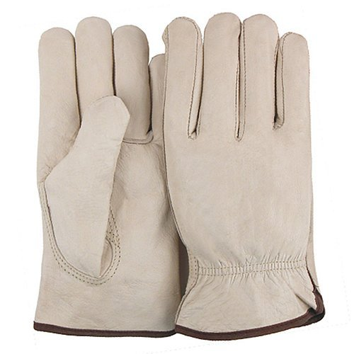 Majestic Glove 2510/13 Industrial Glove Drivers Cow Keystone Thumb 3X-Large Size 13 Tan (Pack of 12) [並行輸入品]  B07Q2YKL7F