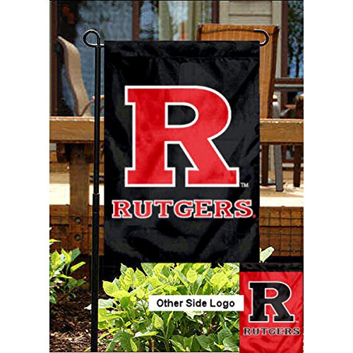 College Flags and Banners Co. Rutgers Scarlet Knights Garden Flag
