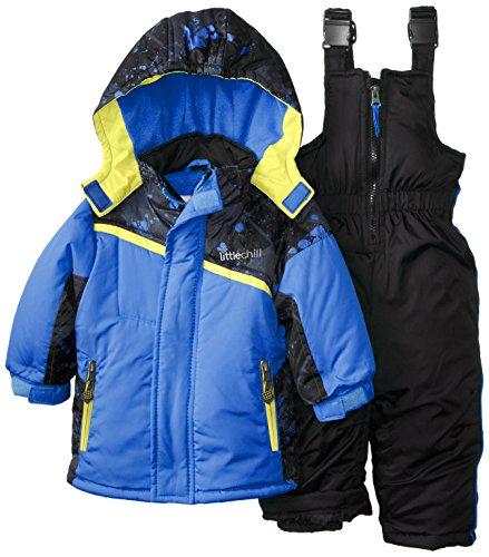 Big Chill Baby Boys' Splatter Paint Snowsuit, Blue, 12 Mo...